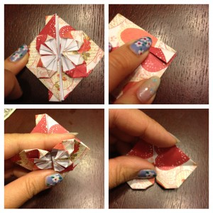 origami heart step 6