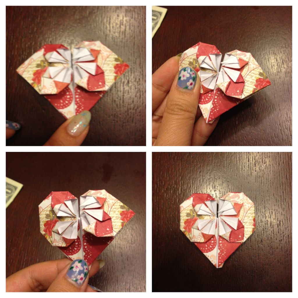 Origami Heart The Crafty Ninja