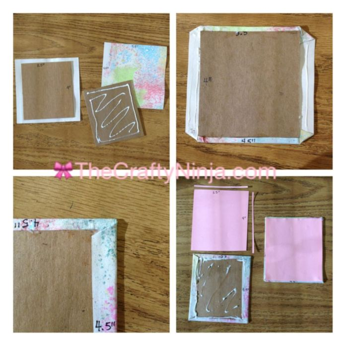 sticky note mini sketch book 2