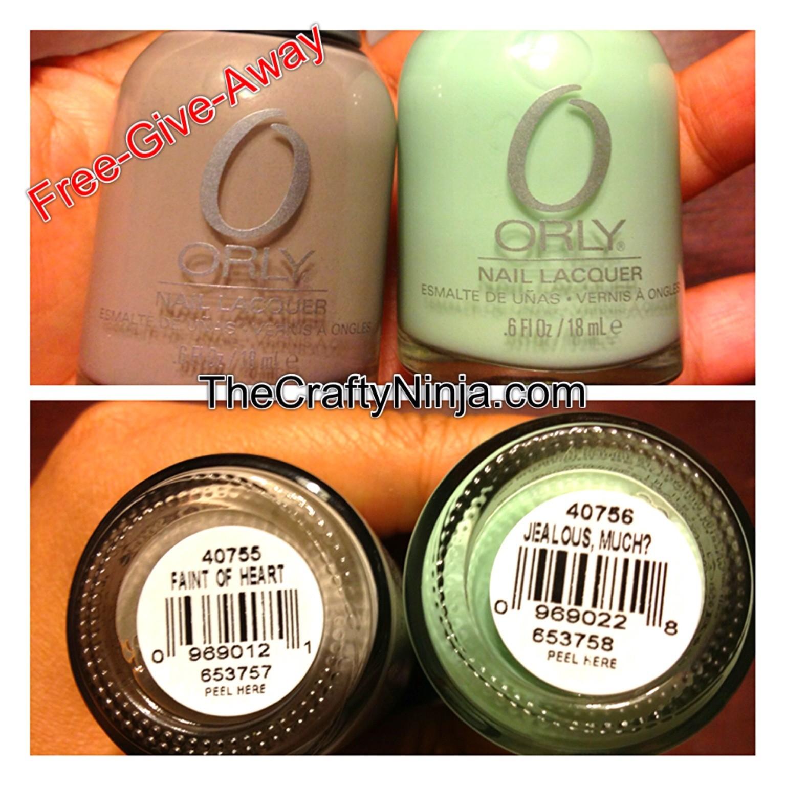 nail polish give away