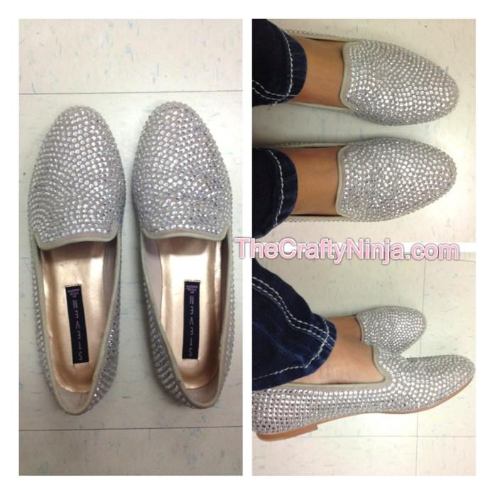 steven rhinestone shoe