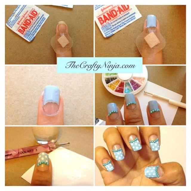band aid manicure