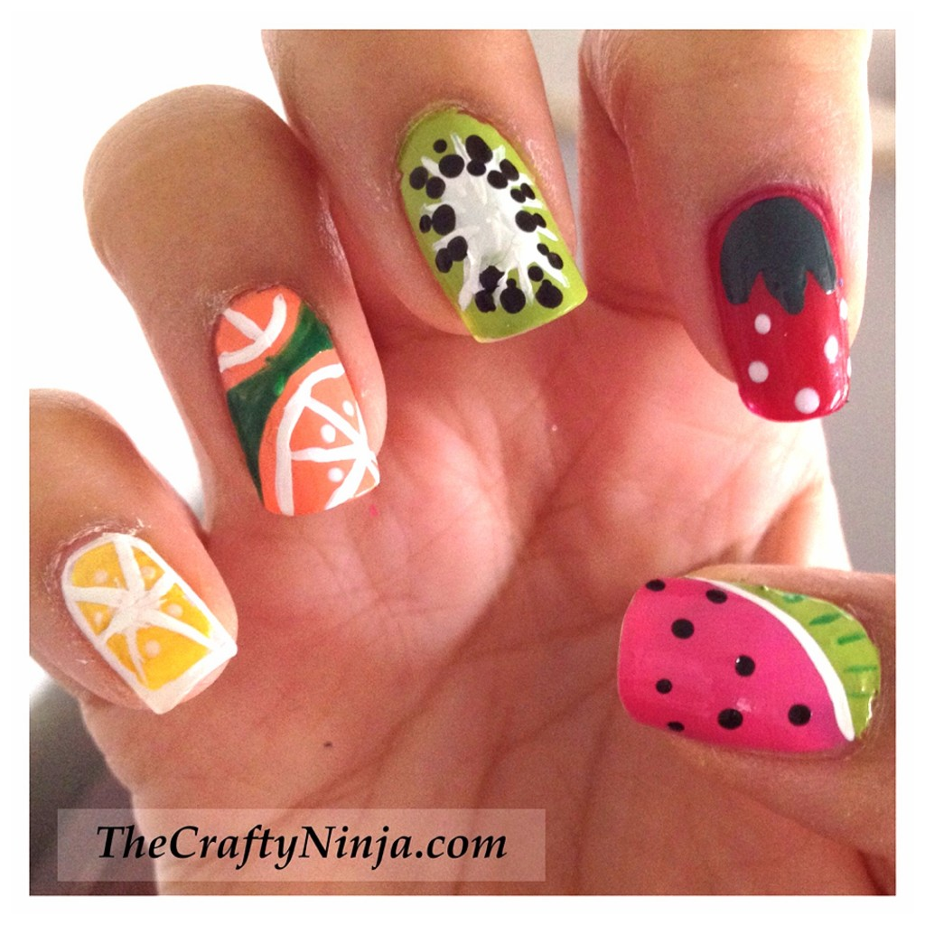 Top 50 Summer Nail Art Ideas! - A Sparkly Life for Me