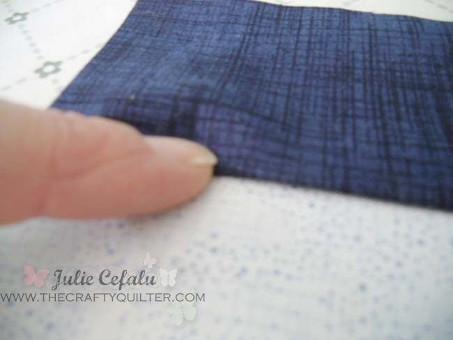 """How to achieve the perfect 1/4"""" seam allowance @ The Crafty Quilter"""