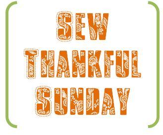 Sew Thankful Sunday