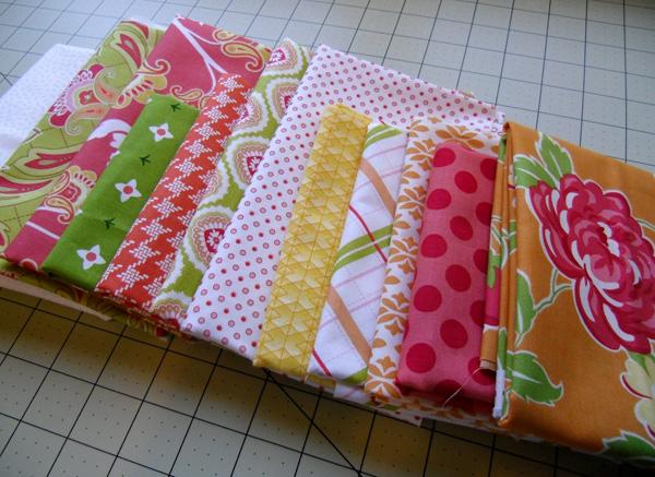 Sister's Ten Modern BOM fabric