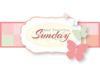 Sew Thankful Sunday at The Crafty Quilter