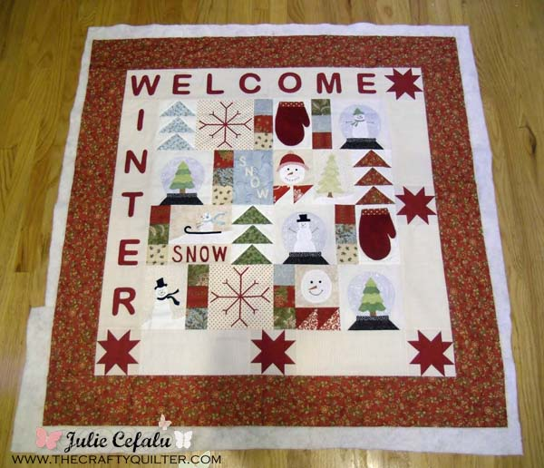 Welcome winter at The Crafty Quilter