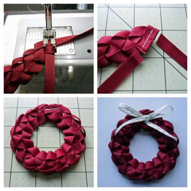 Ribbon collage
