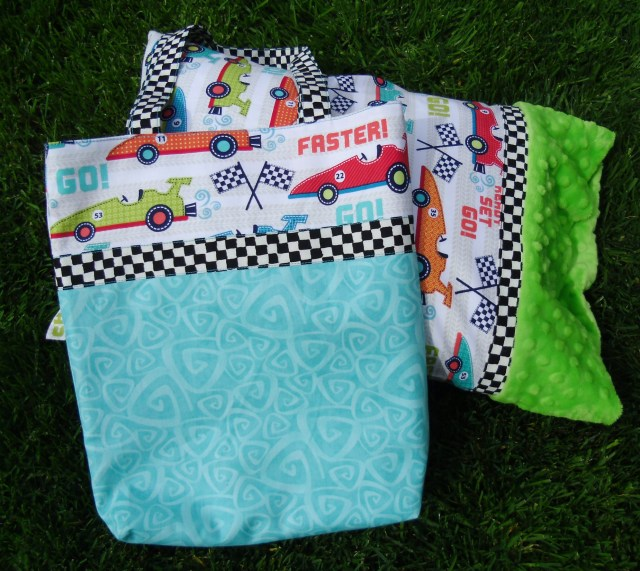 Travel Pillow Case & Book Bag @ The Crafty Quilter