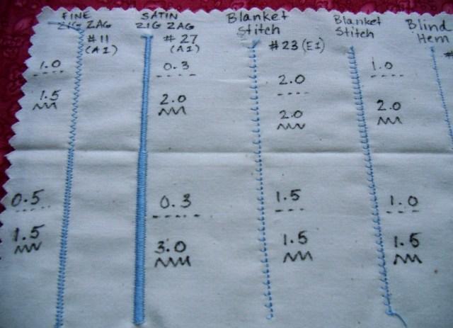 sample stitch card viking right