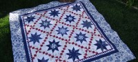 Star quilt at The Crafty Quilter