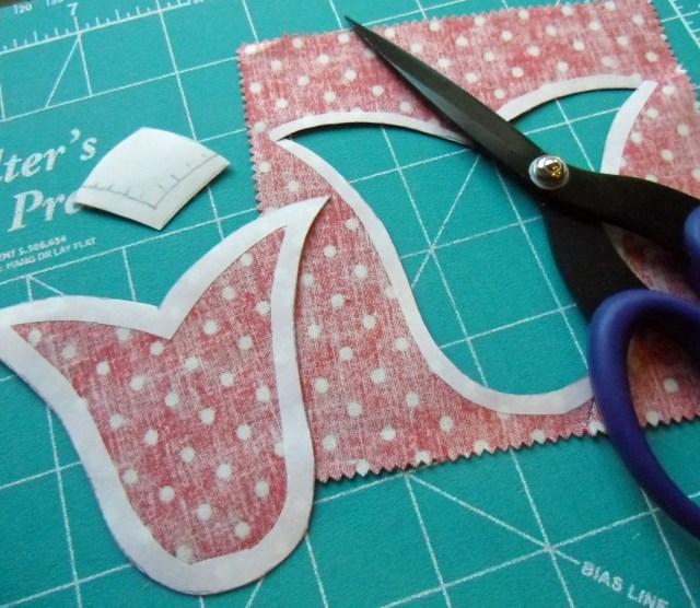 tulip shape cutting complete