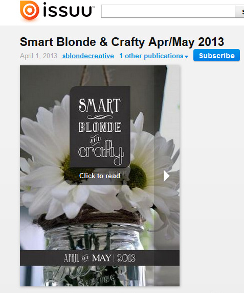 SMart blond & crafty
