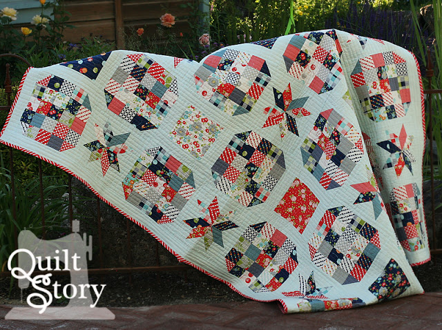 Lucky Stars QAL @ Quilt Story