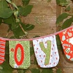 Joy Bunting by The Patchsmith