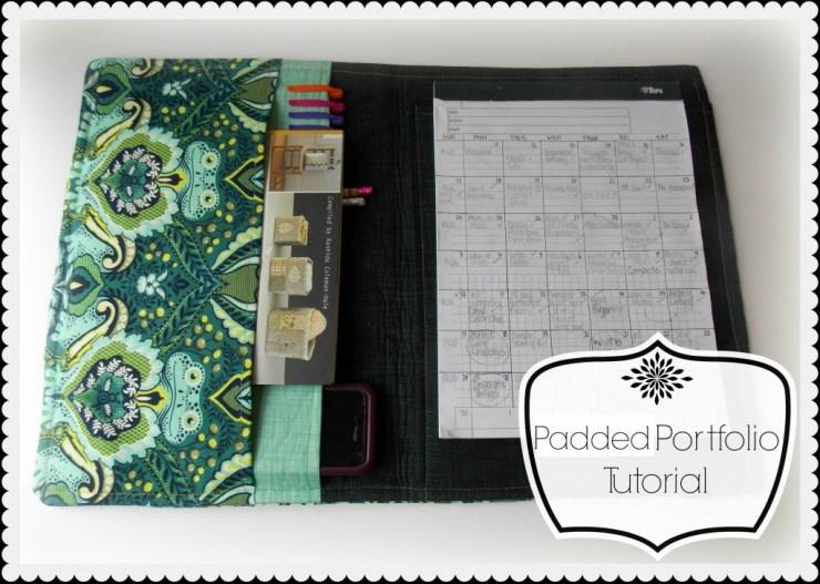 padded portfolio