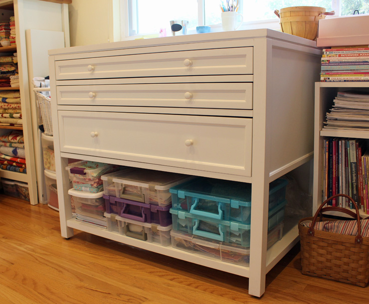 Cutting Table by Martha Stewart @ The Crafty Quilter