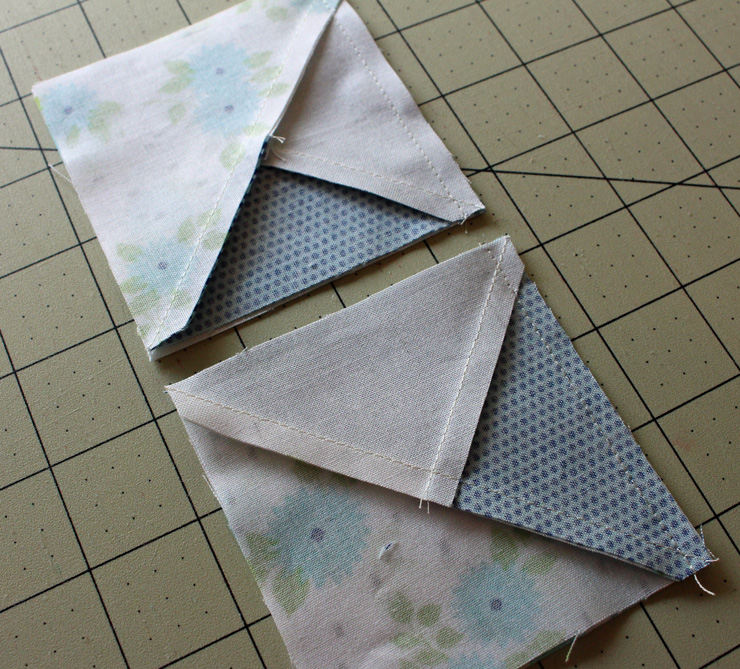pinwheel chain halves
