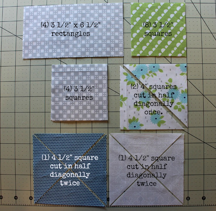 Pinwheel Star Quilt Block Tutorial @ The Crafty Quilter