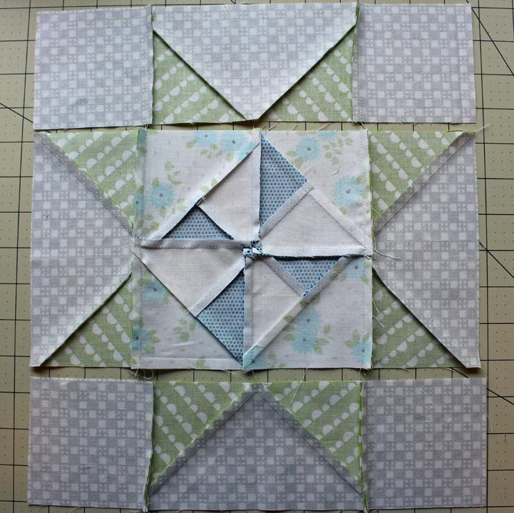 pinwheel star press rows