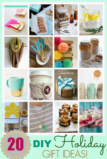20 handmade gift ideas christmas collagepm