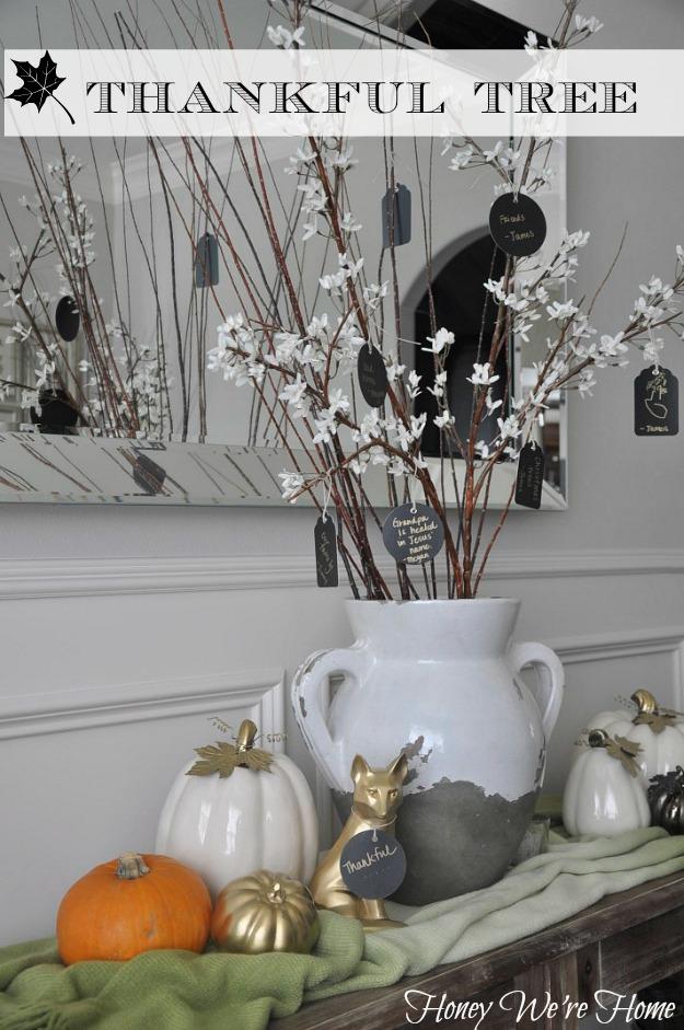 Honey We're Home Thankful Tree.195