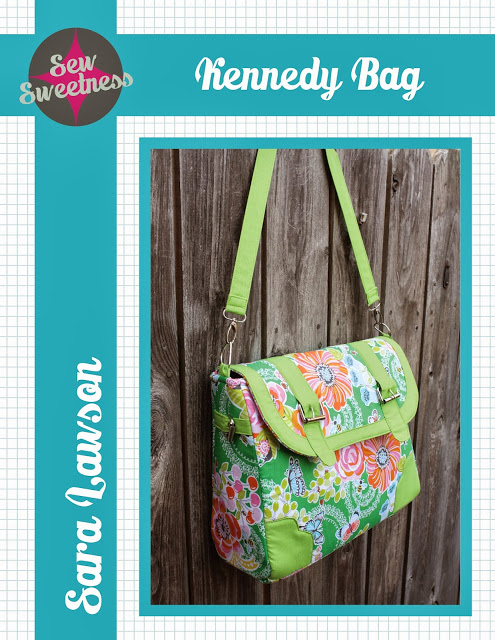 Kennedy Bag Pattern by Sara Lawson of Sew Sweetness