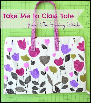 Take me to class tote tutorial