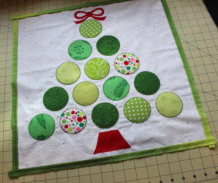 applique with flange full