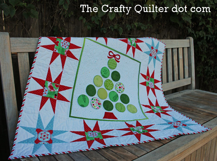 Christmas Tree Wall Hanging Tutorial The Crafty Quilter