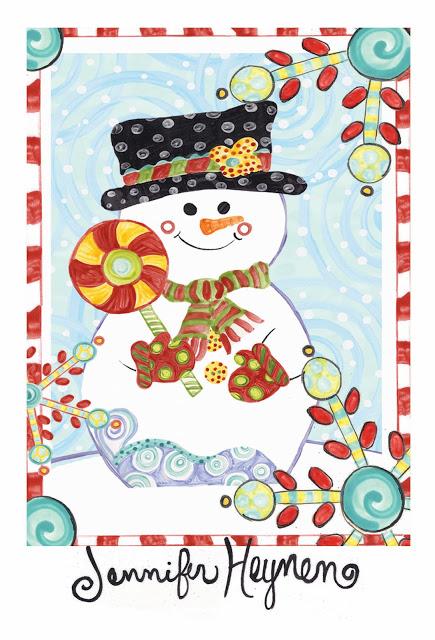 snowman Heynen
