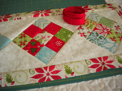 Scrappy Nine Patch Table Runner Tutorial