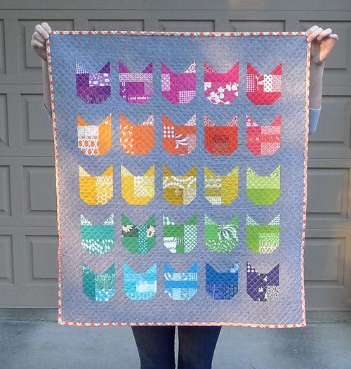 cat quilt along