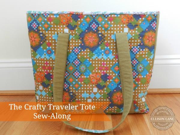 Crafty Traveler Sew along @ Ellison Lane