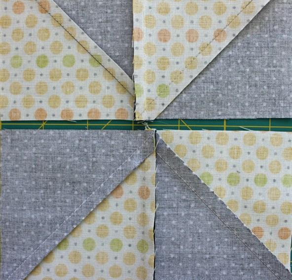 pinwheel side match wrong side