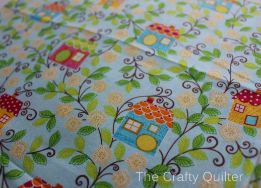 BIRDHOUSE FABRIC