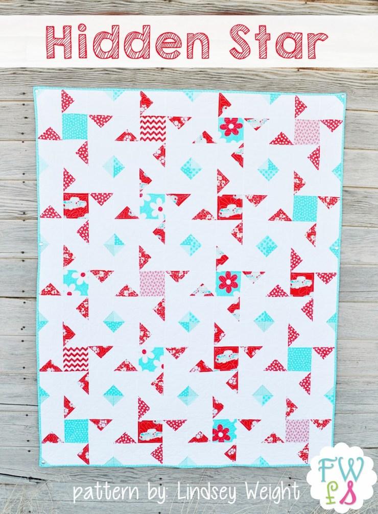 Hidden Star Quilt Pattern