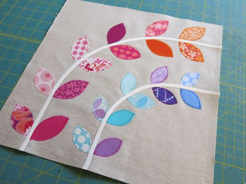 Little Vines Quilt Block