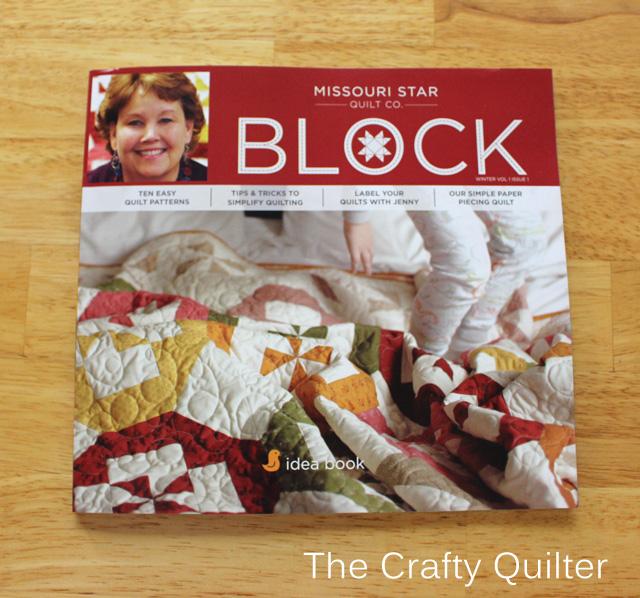 Block Magazine Front Cover
