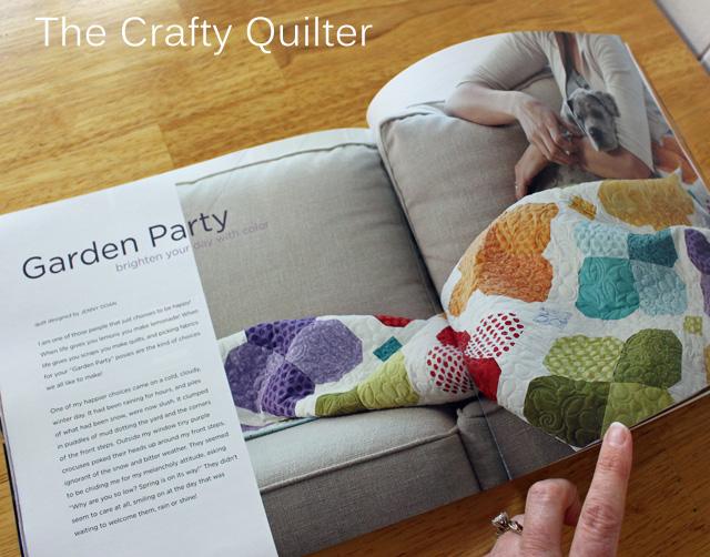 magazine garden party page copy