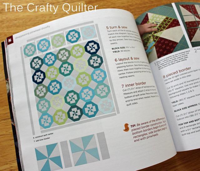 magazine  pinwheel page copy