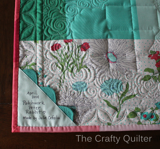 Quilt Label @ The Crafty Quilter
