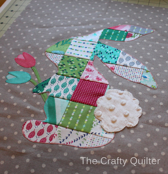 Patchwork Peter Rabbit Sneak Peak @ The Crafty Quilter