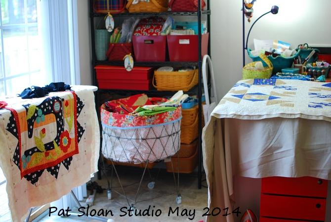 Pat Sloan's Studio Tour