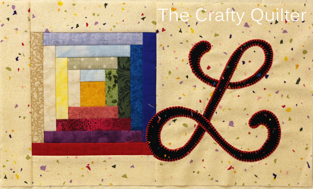 Letter L, TQS 2014 BOM @ The Crafty Quilter