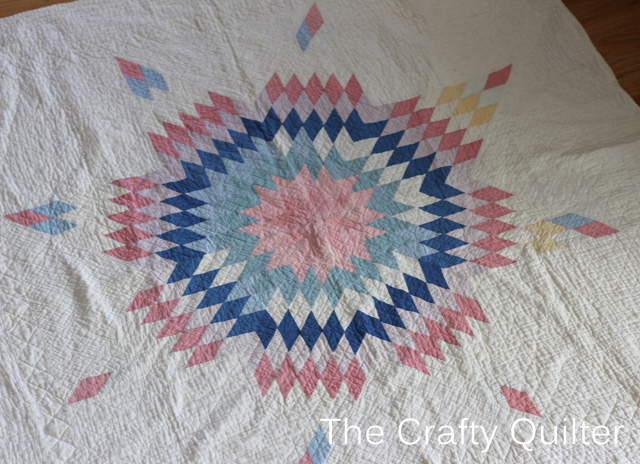 Lone Star Antique Baby Quilt at The Crafty Quilter