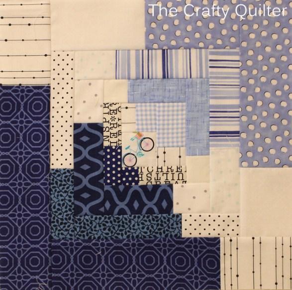 Classic Modern Block 7 by Julie Cefalu
