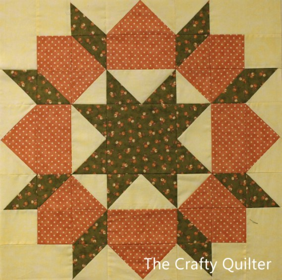 Swoon block from The Crafty Quilter