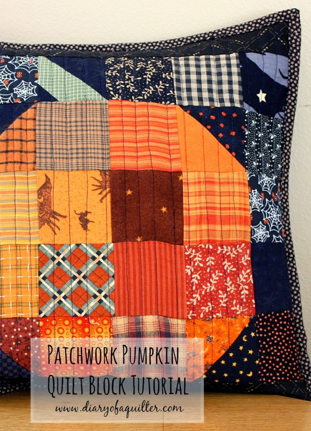 halloween pumpkin patchwork pillow-001